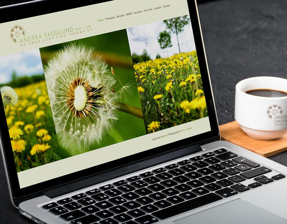 Andrea Skoglund Website