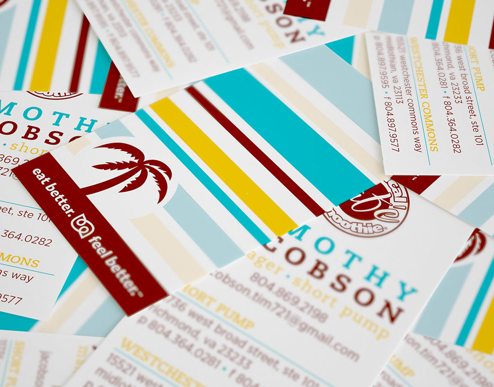 Tropical Smoothie Business Cards